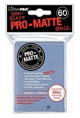 Ultra Pro Small Size Pro Matte Sleeves - Clear - 60ct