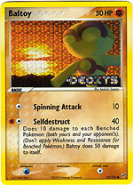 Baltoy - 53/107 - Common - Reverse Holo