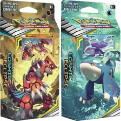 Pokemon Sun & Moon SM12 Cosmic Eclipse Theme Decks: Set of 2