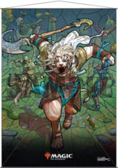 Ultra Pro Magic the Gathering Planeswalkers Stained Glass Wall Scroll - Ajani
