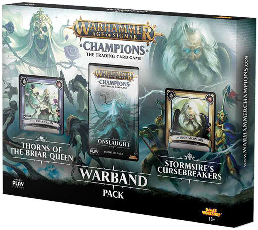 Warhammer Age of Sigmar Champions TCG Onslaught Booster Pack Sealed
