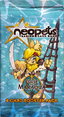 Neopets Card Game TCG Curse of Maraqua Booster Pack