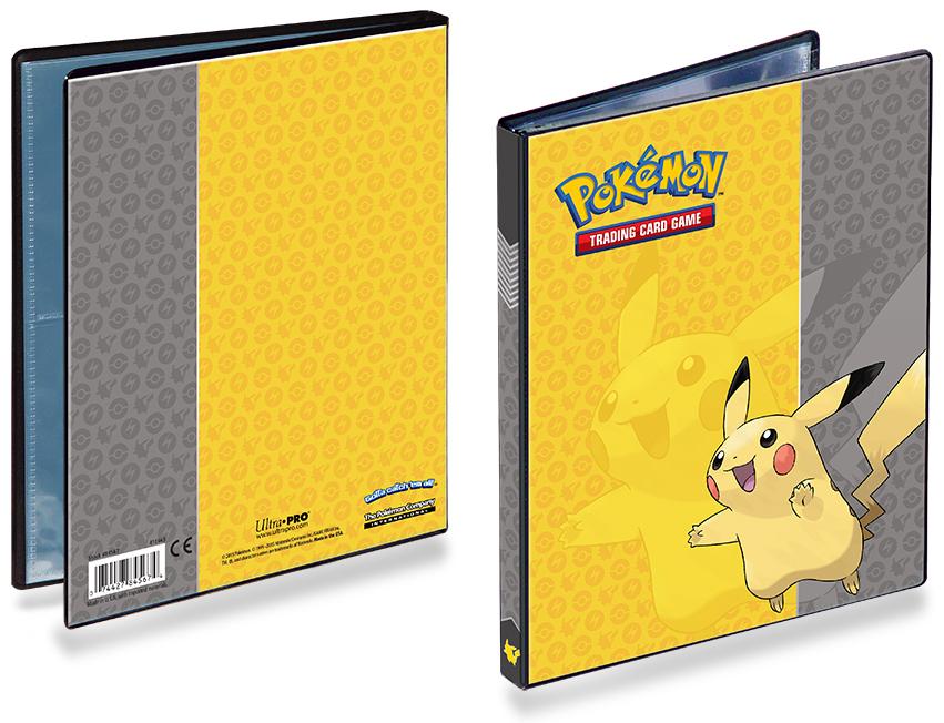 Black Ultra Pro Binder 2-Pocket Trading Card Folder Holds 80 Cards Pokemon//MTG