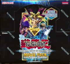 2018 Yu-Gi-Oh Movie Pack Special Edition Display Box