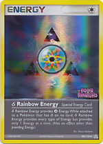Delta Species Rainbow Energy - 98/110 - Uncommon - Reverse Holo