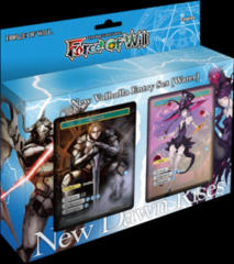 Force of Will Valhalla Cluster Water Starter Deck