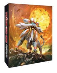 Japanese Pokemon Sun & Moon Solgaleo Lunala Collection File 2