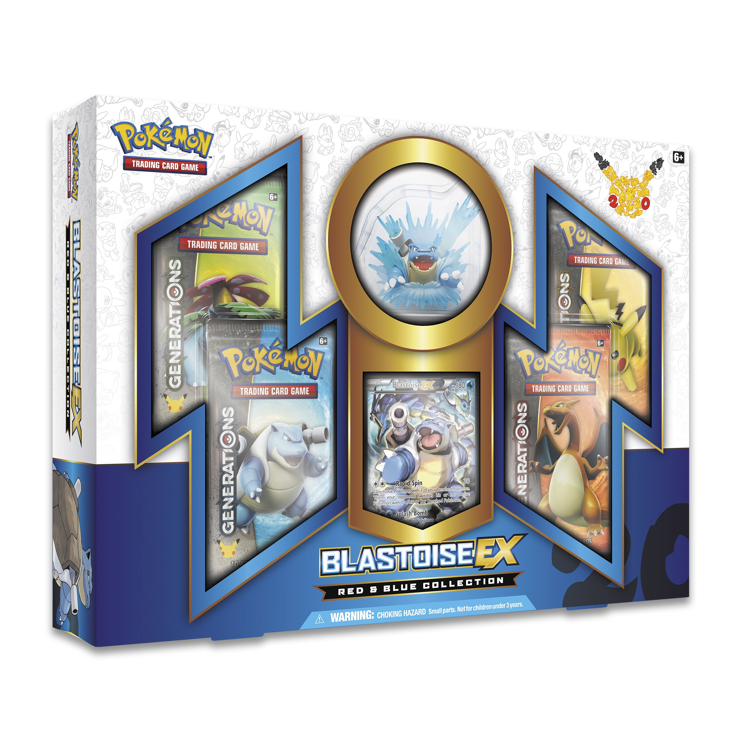 Pokemon Red & Blue Collection: Blastoise EX