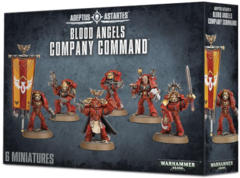 Adeptus Astartes Blood Angels Company Command