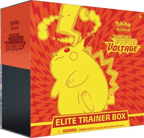 Pokemon SWSH4 Vivid Voltage Elite Trainer Box
