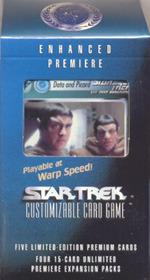 Star Trek CCG Enhanced Premiere Data & Picard Package