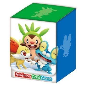 Japanese Pokemon XY Chespin Fennekin Froakie Deck Box