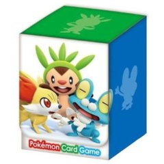 Japanese Pokemon XY Chespin Fennekin Froakie Deck Box