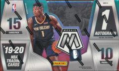 2019-20 Panini Mosaic NBA Trading Cards Hobby Box