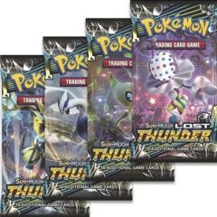 Pokemon SM8 Lost Thunder 36ct Booster Pack Lot