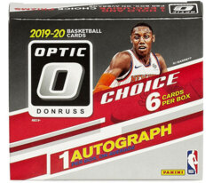 2019-20 Panini Donruss Optic CHOICE NBA Basketball Hobby Box