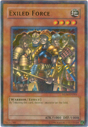Exiled Force Parallel Rare Holo HL04-EN001 - Yu-Gi-Oh