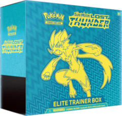 Pokemon Sun & Moon SM8 Lost Thunder Elite Trainer Box