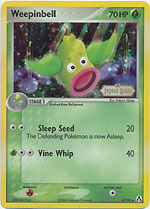 Weepinbell - 47/92 - Uncommon - Reverse Holo
