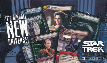 Star Trek CCG 2nd Edition Booster Box