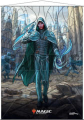 Ultra Pro Magic the Gathering Planeswalkers Stained Glass Wall Scroll - Jace