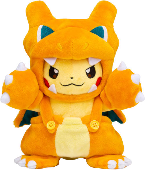 Japanese Pokemon Center Pikachu Charizard Costume Plush Japanese