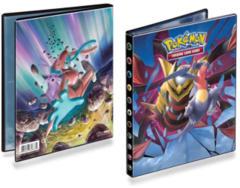 Ultra Pro Pokemon Sun & Moon SM11 Unified Minds 4-Pocket Portfolio - Garchomp/Giratina