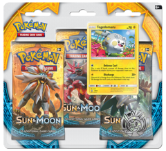 Pokemon Sun & Moon SM1 3-Booster Blister Pack - Togedemaru Promo