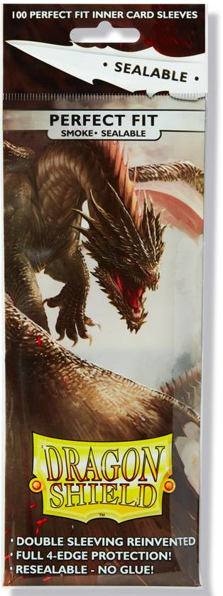 Dragon Shield Standard-Size Perfect Fit Sleeves - Sealable -2333
