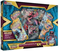 Pokemon Krookodile EX Collection Box