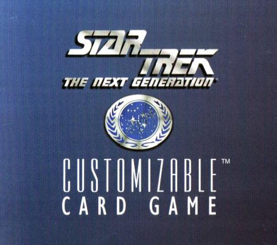 Star Trek CCG Enhanced First Contact Starter Deck Box