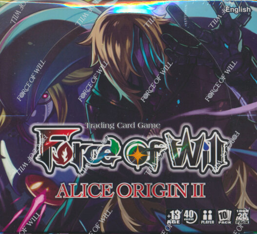 Force of Will AO2: Alice Origins II Booster Box