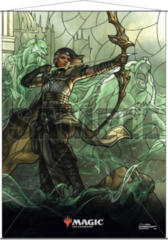 Ultra Pro Magic the Gathering Planeswalkers Stained Glass Wall Scroll - Vivien