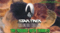 Star Trek CCG The Trouble With Tribbles Theme Deck Box