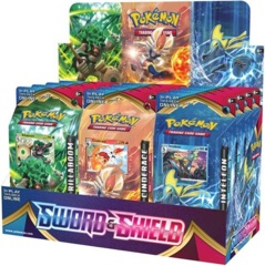 Pokemon SWSH1 Sword & Shield Base Set Theme Deck Display Box