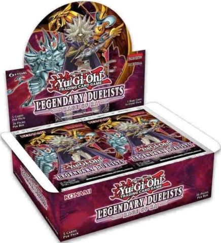 Yu-Gi-Oh Legendary Duelists: Rage of Ra 1st Edition Booster Box
