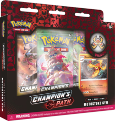Pokemon Champion's Path Pin Collection - Motostoke