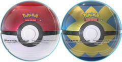 Pokemon Set of 2 Poke Ball Tins: Poke Ball & Quick Ball