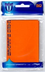 Max Protection Alpha Gloss Standard Size Sleeves - Orange - 50ct