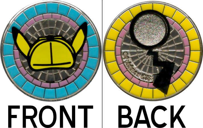 Metal Detective Pikachu Coin Detective Pikachu Charizard Gx