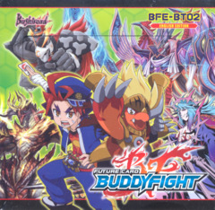Buddyfight BFE-BT02 Cyber Ninja Squad Booster Box