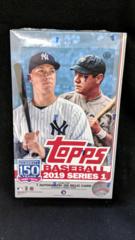 2019 Topps MLB Baseball Series 1 Hobby Box
