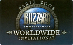 2008 Blizzcon World of Warcraft Paris Exclusive Tyrael Pet Loot Code Card