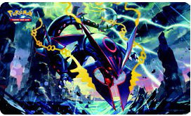 Pokemon Shiny Mega Rayquaza Playmat