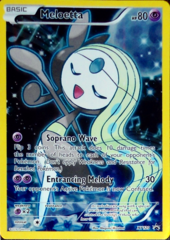 Meloetta XY120 Full-Art Holo Promo - Meloetta Mythical Collection Exclusive