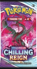 Pokemon SWSH6 Chilling Reign Booster Pack