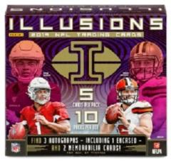 2019 Panini Illusions NFL Football Hobby Box