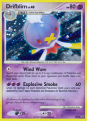 Drifblim DP34 Cosmos Holo Promo - Stormfront Blister Exclusive