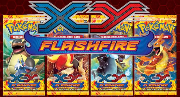 Pokemon XY2 Flashfire Blister Case 144ct