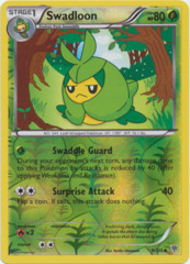 Swadloon - 9/135 - Uncommon - Reverse Holo